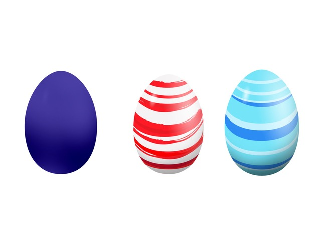 Easter eggs  by Jessica Trask-Smith