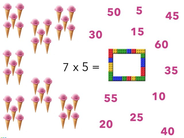 5 Times Table Type The Number by Eva Jay