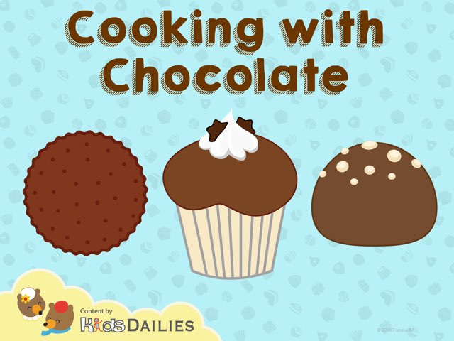 Cooking with Chocolate by Kids Dailies