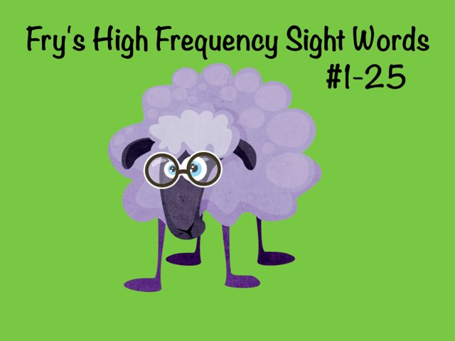 Fry Sight Words 1 by Ellen Weber