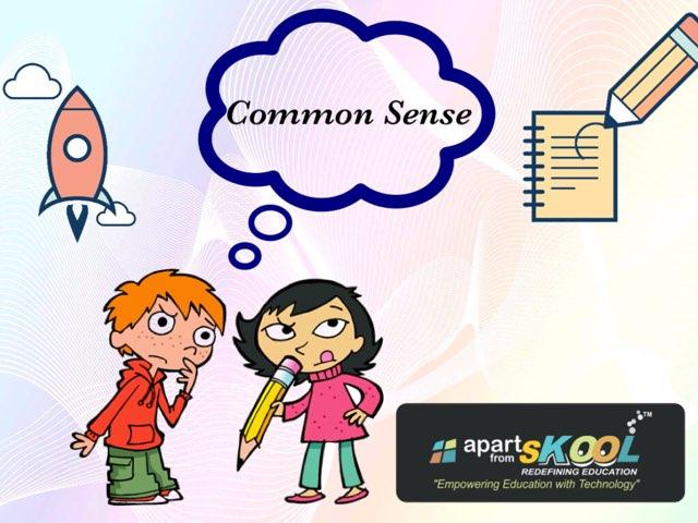 Common Sense by TinyTap creator