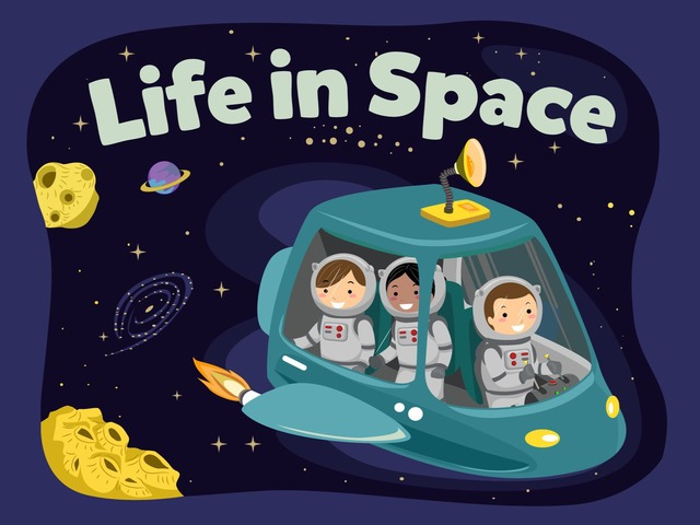 Life In Space by Kids Dailies