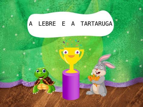 A LEBRE E A TARTARUGA  by Bárbara Rocco