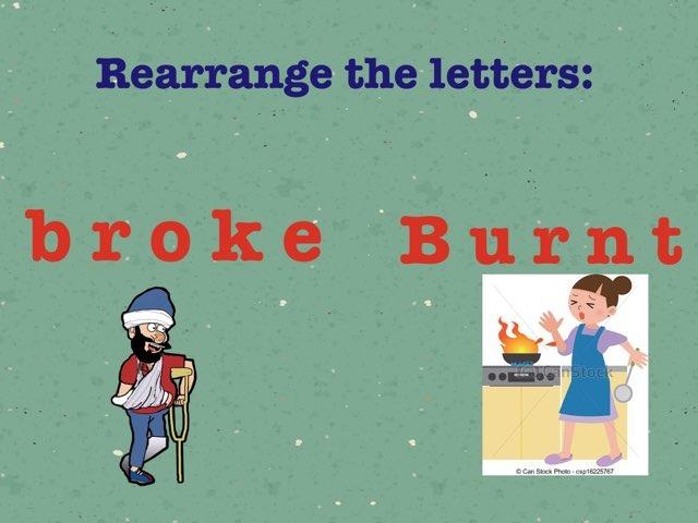 Rearrange Letters  by Jojo 511