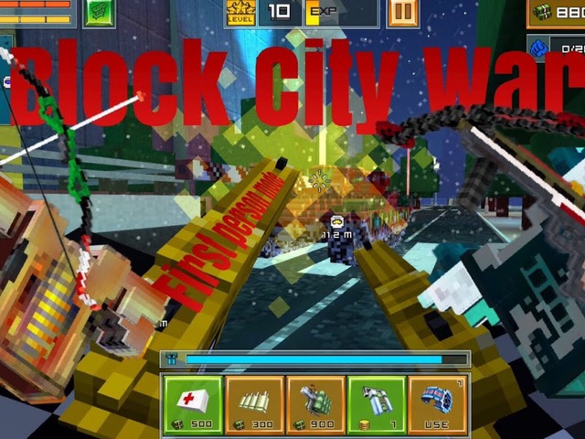 BLOCK CITY WARS VS PIXEL GUN And Other Game by moussa