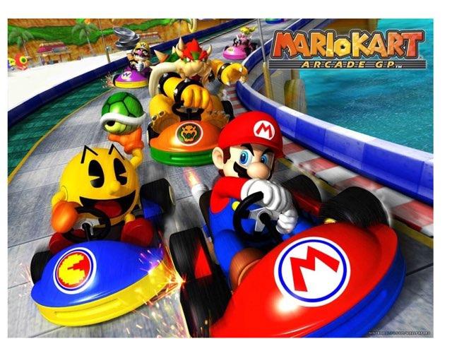 Mario Cart  by Jay Santiago