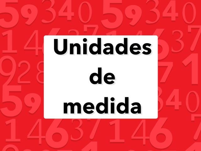 Unidades de medida by Daniel Rodríguez