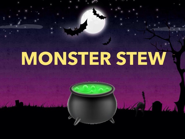 Monster Stew Syllables by A. DePasquale