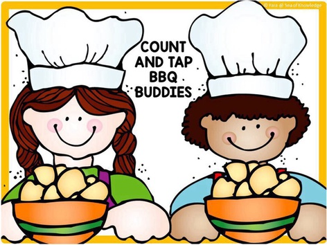 Counting Objects Numbers To 10 Barbecue Cook Out (EN UK) by Yara Habanbou