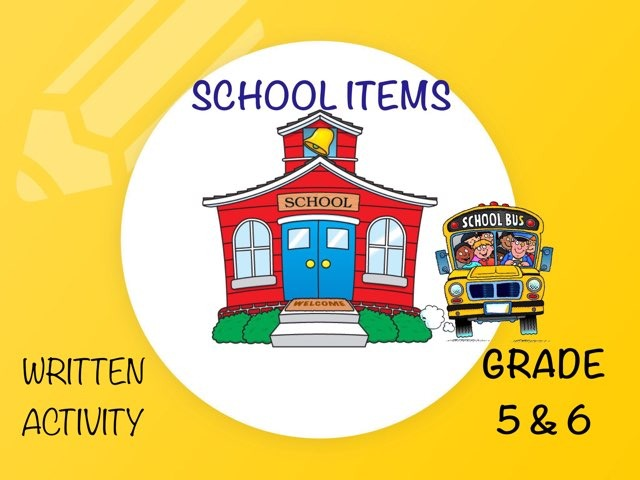 School Items  by Laurence Micheletti