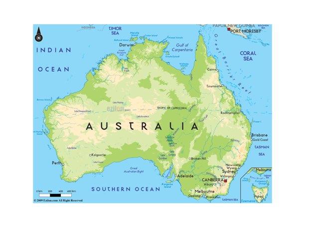 Kelley's Trip To Australia  by Kathy Meehan
