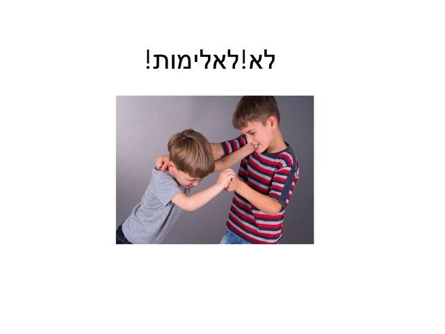 כללי התנהגות by Meital Avissar