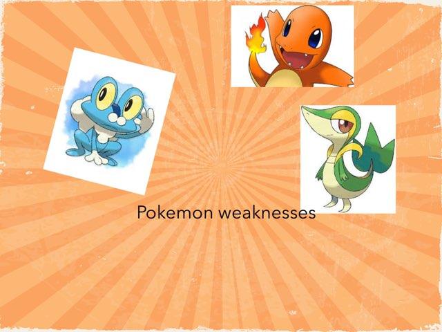 Pokemon Quiz by Frances Chapin