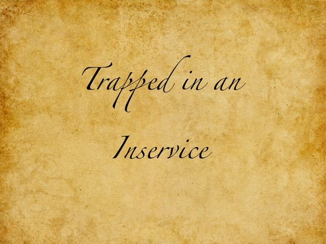 Trapped In An In-service by Lisa Jordan
