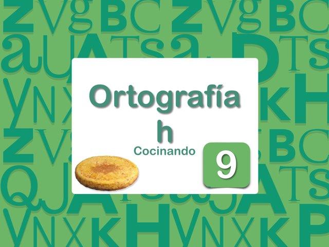 Ortografía H cocinando tortilla by Elysia Edu