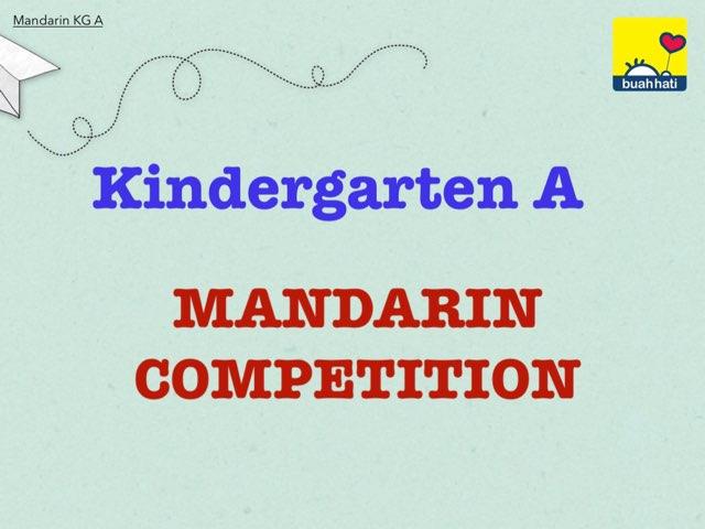Mandarin KG A by Gundala Petir
