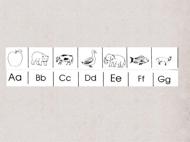 Alphabet Sounds Chart by Timothy Teelin