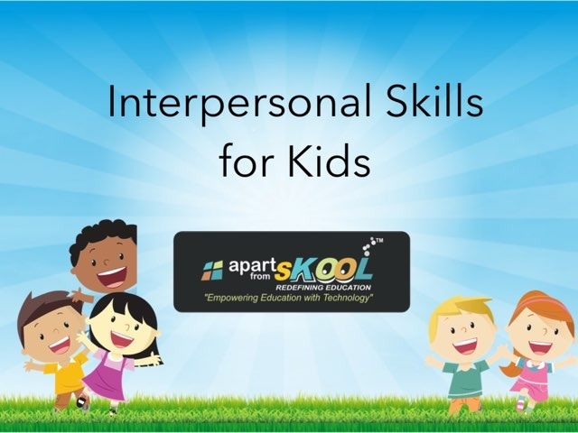 Interpersonal Skills by TinyTap creator