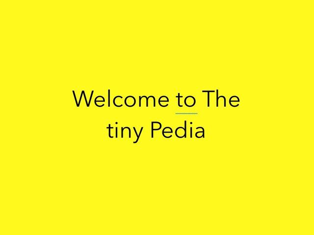The Tiny Pedia by Aiden Borlongan