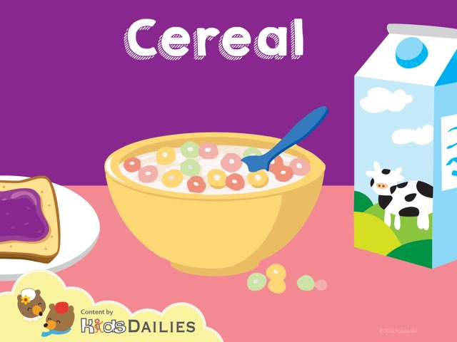 Cereal by Kids Dailies