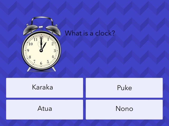 Maori Language Game- BETA BY Dylan T by Matt Johnston
