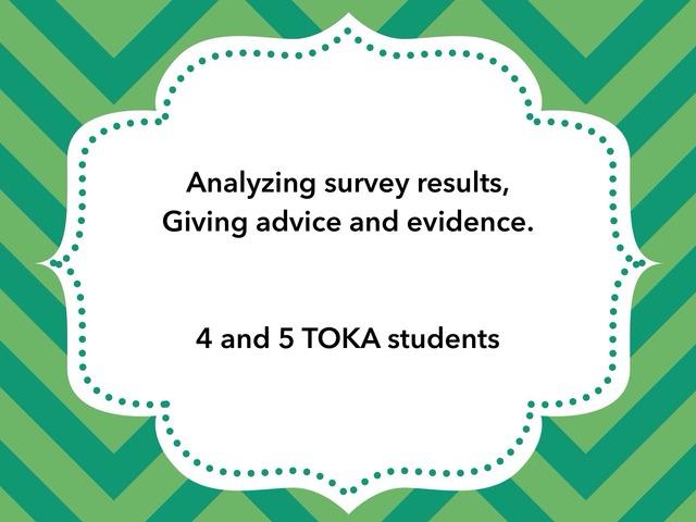 Survey Results by Oficinatoka Toka