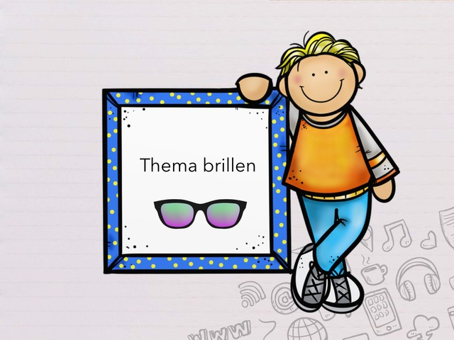 Thema Brillen. by Phaedra Delchambre