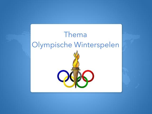 Olympische Winterspelen (taal). by Renske Imthorn
