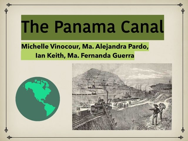 Panama Canal by Michelle Vinocour