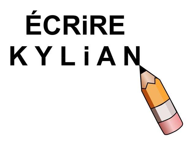 Écrire KYLiAN  by Valerie Escalpade