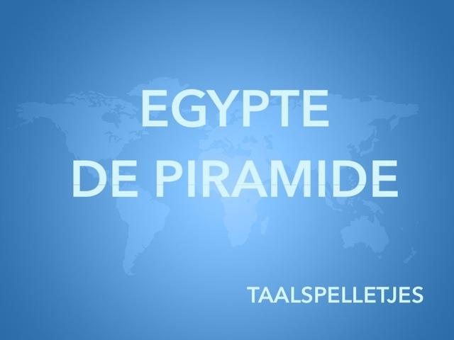 "TAALSPELLETJES ""DE PIRAMIDE"" by Thalisa Deblaere"