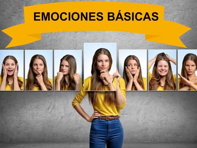 Emociones básicas by Francisco Esteve