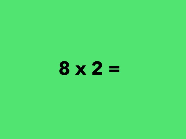Multiplication (8 Facts) by Lori Board