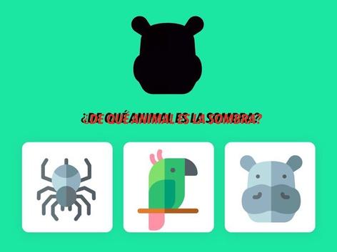 ¿DE QUÉ ANIMAL ES LA SOMBRA? by Jose Sanchez Ureña