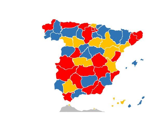 Mapa provincias De España by Diego Guzman Sousa