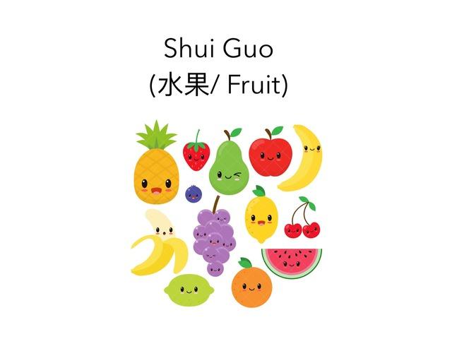Fruit In Mandarin by Carina Sheppard