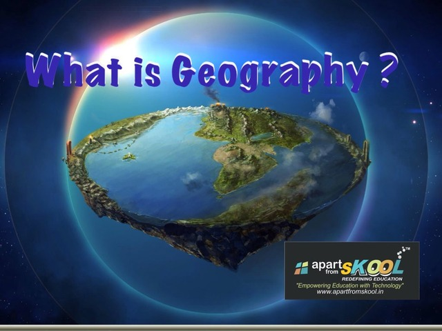 What Is Geography  by TinyTap creator