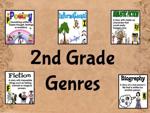 2nd Grade Genres  by Melodi Kunn