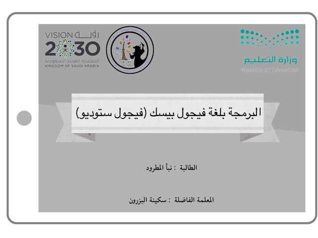 Visual Studio by Nabaa Al-Matrood