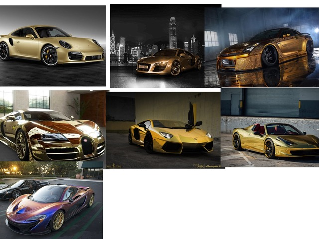 GOLD ,RAINBOW ,ULTRA CARS  by moussa