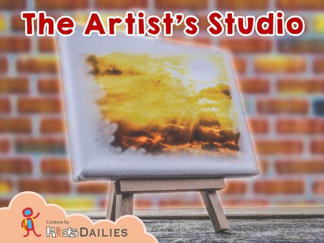 The Artist's Studio by Kids Dailies