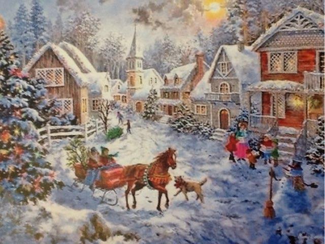 Christmas Day by Vicki Hamer