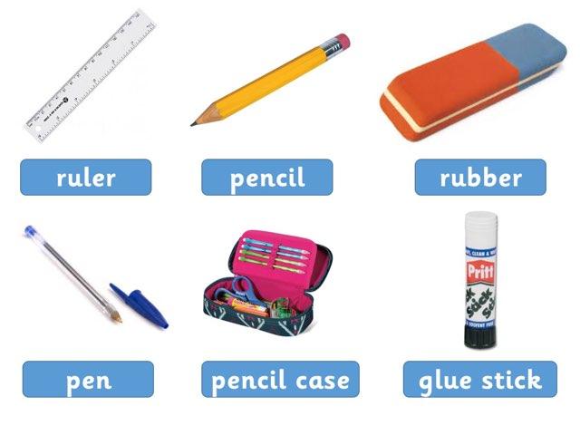 Classroom objects by Glenn Bridges