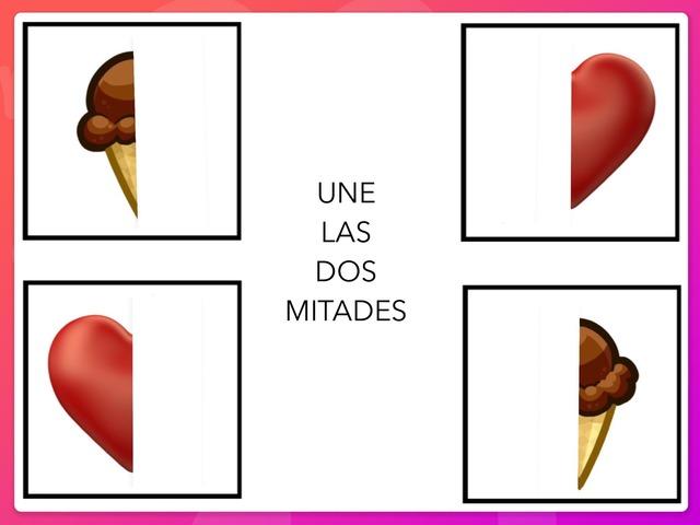 UNE LAS DOS MITADES by Zoila Masaveu