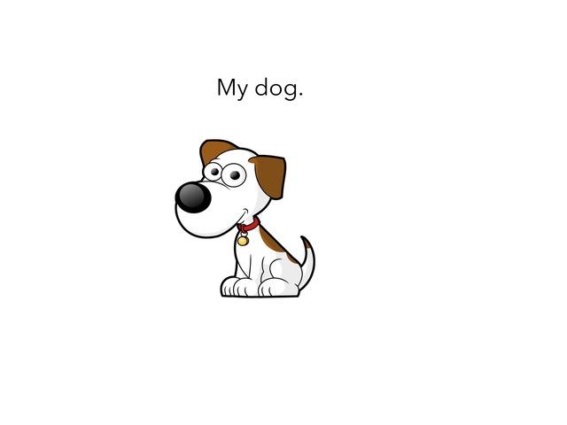 My Dog. by MOLLY THOMPSON