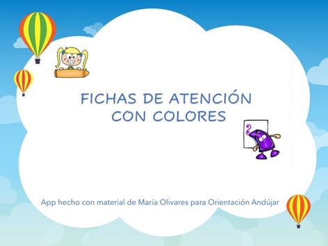 Fichas De Atención Con Colores by Zoila Masaveu
