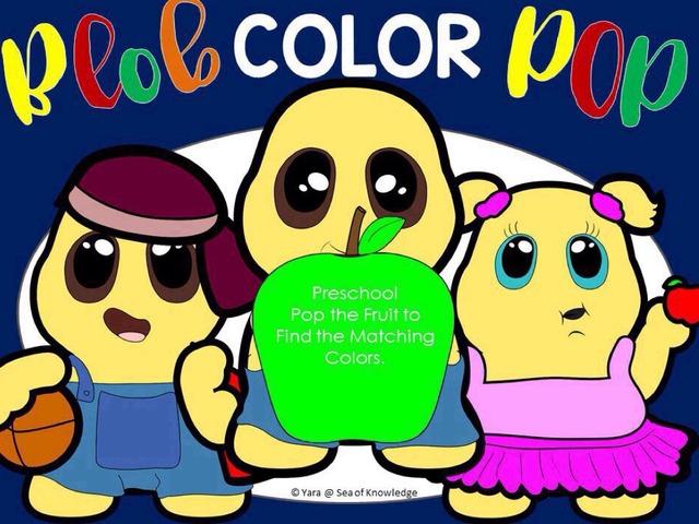 Blob Color Pop - Visual Discrimination by Yara Habanbou