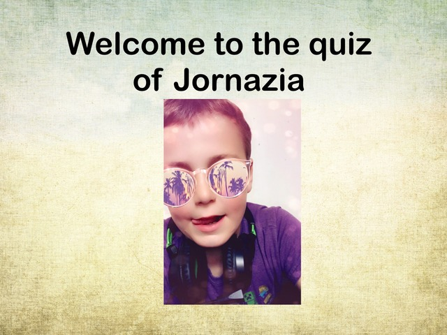 Jornazia Quiz by Miner Jorge vlogs