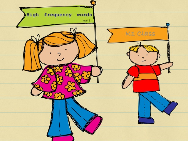 High Frequency Words Level 3 by Suhaila Natasha