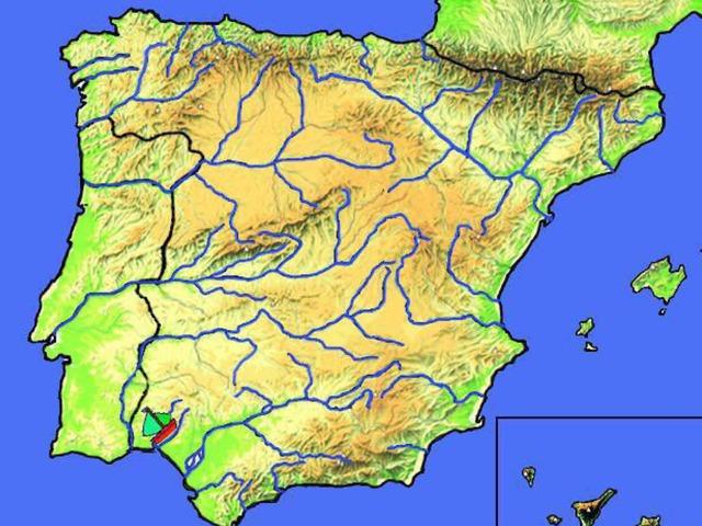 Mapa Físico De España Ríos  by Aitana Longobardo
